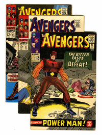 The Avengers Group (Marvel, 1965-71) Condition: Average FN-.... (Total: 11 Comic Books)