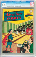 Golden Age (1938-1955):Adventure, Adventure Comics #111 (DC, 1946) CGC VF+ 8.5 Off-white to white pages....