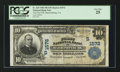 National Bank Notes:Virginia, Harrisonburg, VA - $10 1902 Plain Back Fr. 625 The First NB Ch. #(S)1572. ...