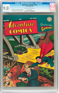 Golden Age (1938-1955):Superhero, Adventure Comics #112 (DC, 1947) CGC VF/NM 9.0 Off-white to white pages....