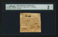 Colonial Notes:Massachusetts, Massachusetts May 25, 1775 12s PMG Fair 2 Net.. ...