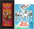 Music Memorabilia:Posters, Blue Hawaii TV Promo Poster and Program Book.... (Total: 2 )