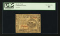Colonial Notes:Continental Congress Issues, Continental Currency July 22, 1776 $4 PCGS Very Choice New 64.. ...