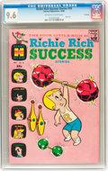 Silver Age (1956-1969):Humor, Richie Rich Success Stories #10 File Copy (Harvey, 1966) CGC NM+ 9.6 Off-white to white pages....