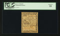 "Colonial Notes:Continental Congress Issues, Continental Currency February 17, 1776 $1/3 Plate ""C"" PCGS AboutNew 53.. ..."