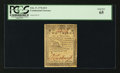 "Colonial Notes:Continental Congress Issues, Continental Currency February 17, 1776 $2/3 Plate ""A"" PCGS Gem New65.. ..."