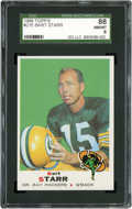 Football Cards:Singles (1960-1969), 1969 Topps Bart Starr #215 SGC 88 NM/MT 8....