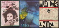 "Czech Poster Lot (Various, 1970-1990). Czech Posters (6) (11"" X 16""). Miscellaneous. ... (Total: 6 Items)"