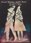 "Movie Posters:Drama, Ginger and Fred (Polfilm, 1986). Polish B1 (26.5"" X 37""). Drama.. ..."