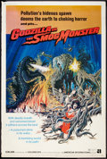 "Movie Posters:Science Fiction, Godzilla vs. the Smog Monster (American International, 1972).Poster (40"" X 60""). Science Fiction.. ..."