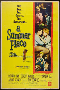 """A Summer Place (Warner Brothers, 1959). Poster (40"""" X 60"""") Style Z. Romance"""