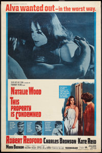 """This Property is Condemned (Paramount, 1966). Poster (40"""" X 60""""). Drama"""