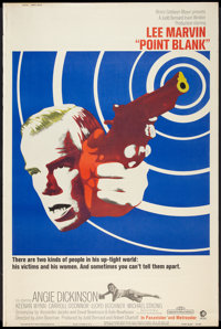 """Point Blank (MGM, 1967). Poster (40"""" X 60""""). Crime"""