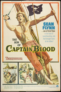 "The Son of Captain Blood (Paramount, 1963). Poster (40"" X 60""). Swashbuckler"
