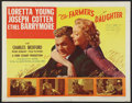 "Movie Posters:Comedy, The Farmer's Daughter (SRO, R-1954). Half Sheet (22"" X 28""). Comedy.. ..."