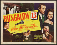 "Bungalow 13 (20th Century Fox, 1948). Half Sheet (22"" X 28""). Mystery"