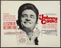 """Movie Posters:Documentary, Johnny Cash! The Man, His World, His Music (Continental, 1969). Half Sheet (22"""" X 28""""). Documentary.. ..."""