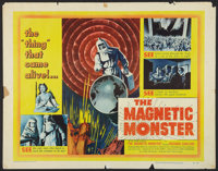 "The Magnetic Monster (United Artists, 1953). Half Sheet (22"" X 28""). Science Fiction"