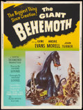 "Movie Posters:Science Fiction, The Giant Behemoth (Allied Artists, 1959). Poster (30"" X 40"").Science Fiction.. ..."