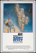"""Movie Posters:Adventure, The Right Stuff (Warner Brothers, 1983). Poster (40"""" X 60""""). Adventure.. ..."""
