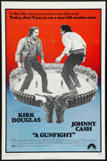 "Movie Posters:Western, A Gunfight (Paramount, 1971). One Sheet (27"" X 41""). Western.. ..."