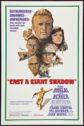 """Movie Posters:War, Cast a Giant Shadow (United Artists, 1966). One Sheet (27"""" X 41"""").War.. ..."""