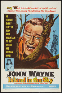"""Island in the Sky (Warner Brothers, 1953). One Sheet (27"""" X 41""""). Adventure"""