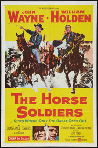 """The Horse Soldiers (United Artists, 1959). One Sheet (27"""" X 41""""). Western"""