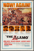 """Movie Posters:Western, The Alamo Lot (United Artists, R-1967). One Sheets (2) (27"""" X 41""""). Western.. ... (Total: 2 Items)"""