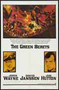 """Movie Posters:War, The Green Berets (Warner Brothers, 1968). One Sheet (27"""" X 41""""). War.. ..."""