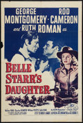 """Movie Posters:Western, Belle Starr's Daughter (20th Century Fox, R-1955). One Sheet (27"""" X 41""""). Western.. ..."""