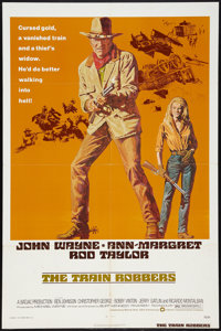 "The Train Robbers (Warner Brothers, 1973). One Sheet (27"" X 41""). Western"