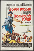 "Movie Posters:Comedy, Donovan's Reef (Paramount, 1963). One Sheet (27"" X 41""). Comedy.. ..."