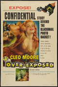 "Movie Posters:Bad Girl, Over-Exposed (Columbia, 1956). One Sheet (27"" X 41""). Bad Girl....."