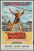 "Movie Posters:Adventure, Daniel Boone, Trail Blazer (Republic, 1956). One Sheet (27"" X 41"").Adventure.. ..."
