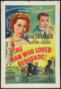"""Movie Posters:Comedy, The Man Who Loved Redheads (London Films, 1955). British One Sheet (27"""" X 40""""). Comedy.. ..."""