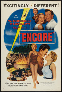 "Encore (Paramount, 1952). One Sheet (27"" X 41""). Drama"