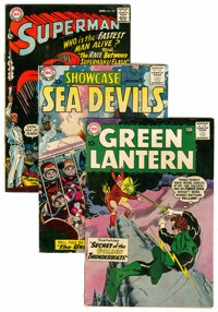 DC Silver Age Short Box Group (DC, 1960s) Condition: Average GD/VG