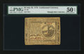Colonial Notes:Continental Congress Issues, Continental Currency July 22, 1776 $2 PMG About Uncirculated 50EPQ.. ...