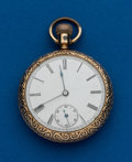 Timepieces:Pocket (post 1900), New England, Tuxedo, 16 Size, Duplex. ...