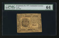 Colonial Notes:Continental Congress Issues, Continental Currency February 26, 1777 $7 PMG Choice Uncirculated64.. ...