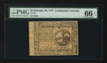 Colonial Notes:Continental Congress Issues, Continental Currency February 26, 1777 $2 PMG Gem Uncirculated 66EPQ.. ...