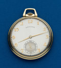 Timepieces:Pocket (post 1900), Hamilton, 14k, 21 Jewel, Grade 941. ...