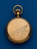 Timepieces:Pocket (pre 1900) , Waltham Wm. Ellery 14k, 6 Size Hunters Case. ...