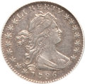 Early Half Dimes, 1796 H10C --Scratched--ANACS. XF40 Details. V-1, LM-1, R.3....
