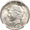Peace Dollars, 1925-S $1 MS65 NGC....