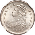 Bust Half Dollars, 1811 50C Small 8 MS64 NGC. O-109, R.2....