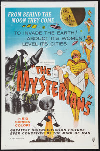 "The Mysterians (RKO, 1959). One Sheet (27"" X 41""). Science Fiction"