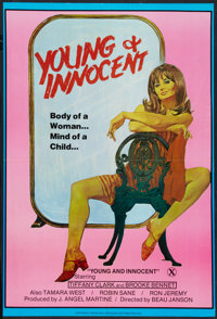 """Young and Innocent (Peggasus, 1982). One Sheet (24"""" X 35""""). Adult"""