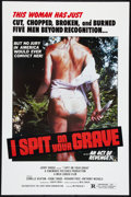 """Movie Posters:Horror, I Spit on Your Grave (Jerry Gross Org., R-1980). One Sheet (27"""" X 41""""). Horror.. ..."""
